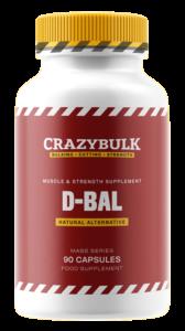 Crazy Bulk D-Bal dianabol légal